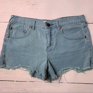 ✨Free People Turquoise Shorts